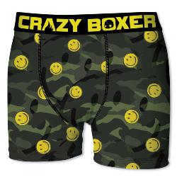 Boxer Homme CRAZYBOXER Smiley's army