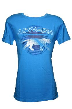 T-Shirt AIRNESS Homme Turquoise
